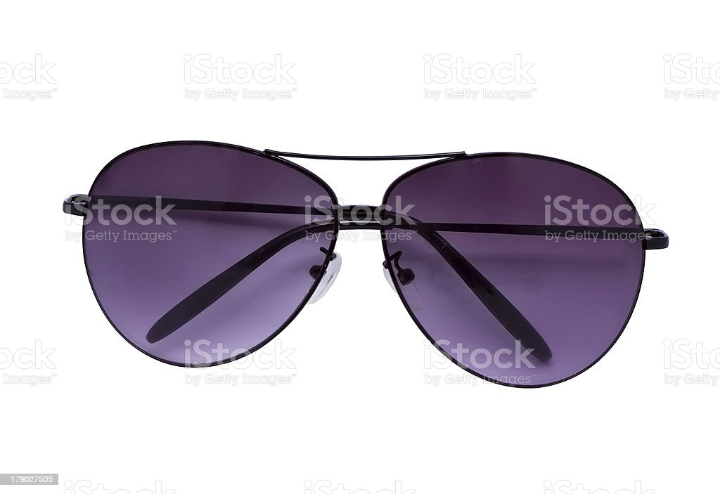 Violet sunglasses royalty-free stock photo
