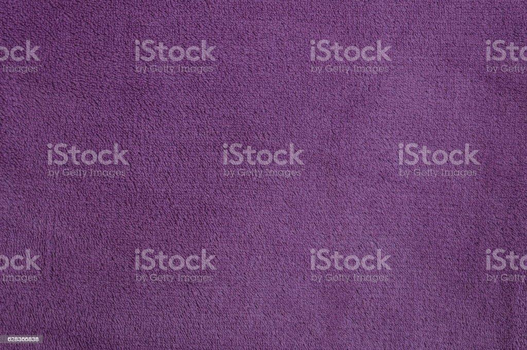 Violet texture of nap textile stock photo