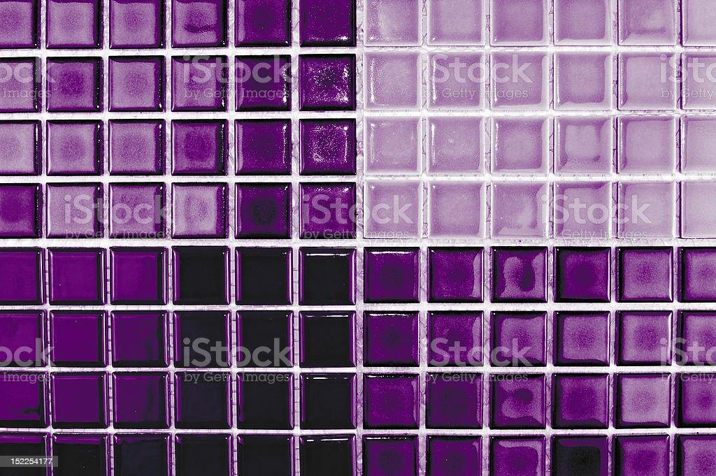 violet tiles royalty-free stock photo