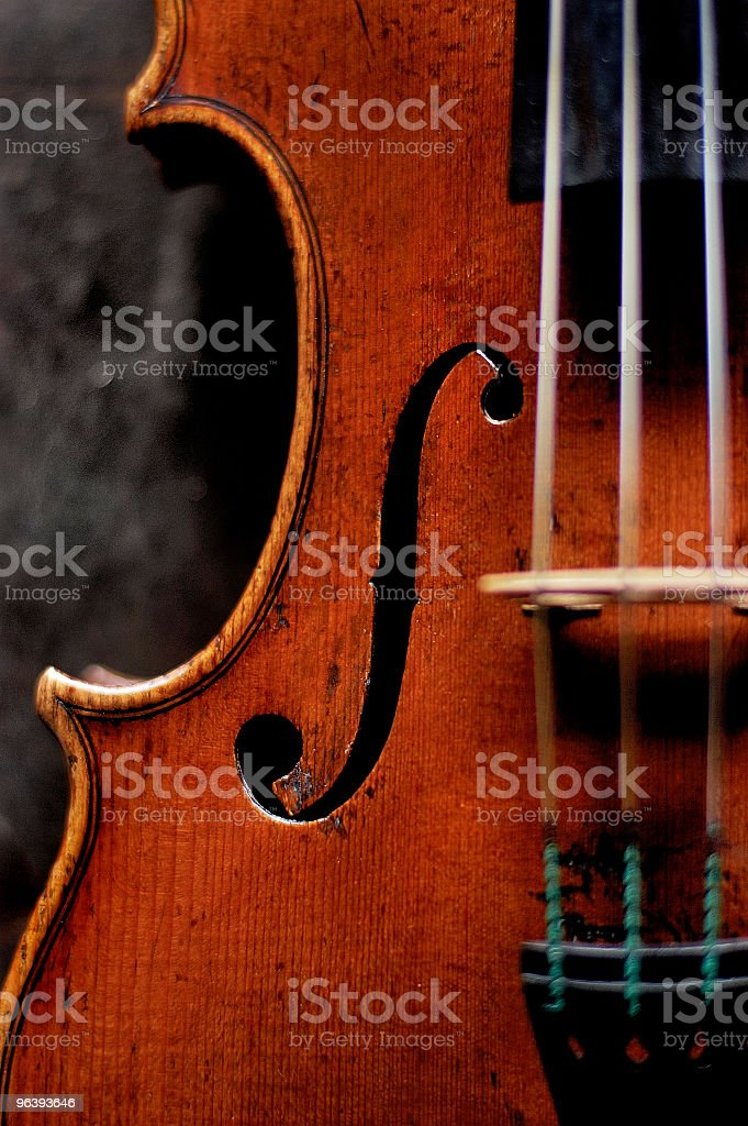 violin 1.0 stock photo