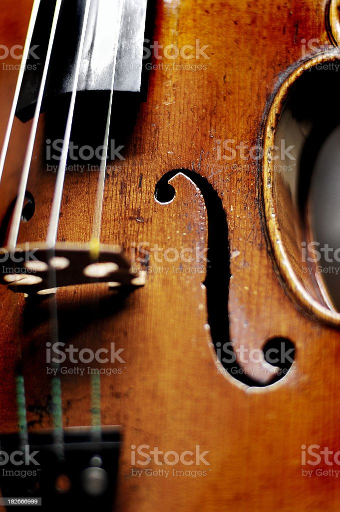 violin 2.0 royalty-free stock photo