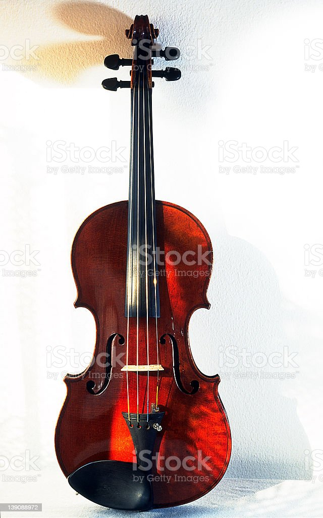 Violin antique royalty-free stock photo