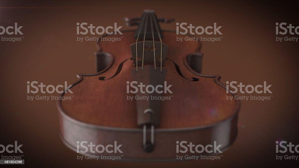 Violon instrument de musique photo libre de droits