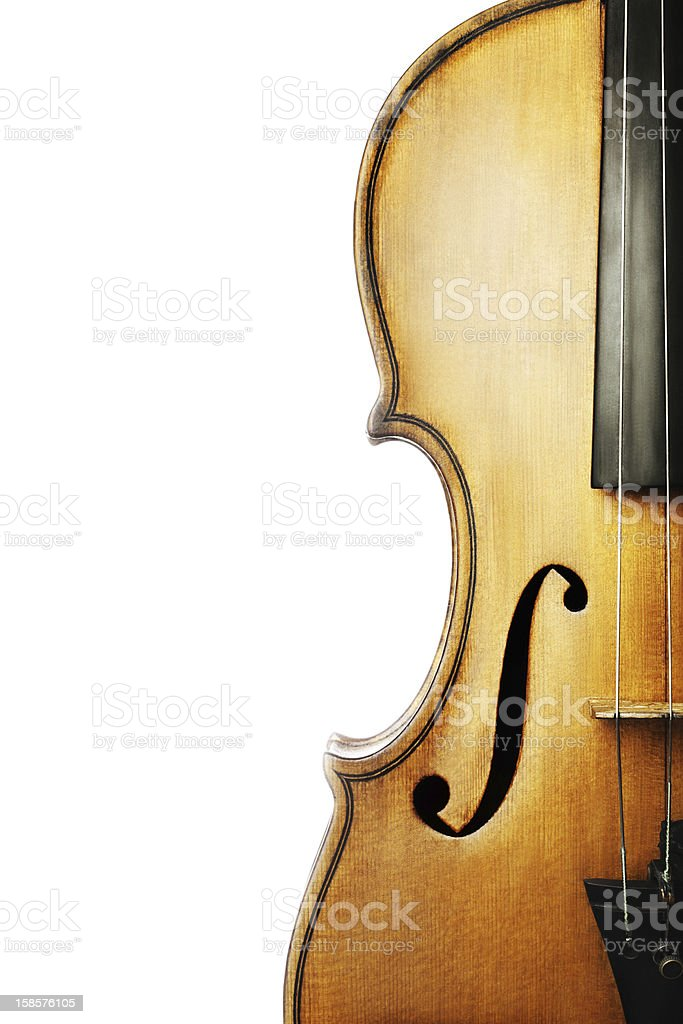 Violin musical instrument stock photo