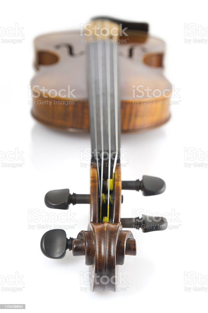 Violin royalty-free stock photo