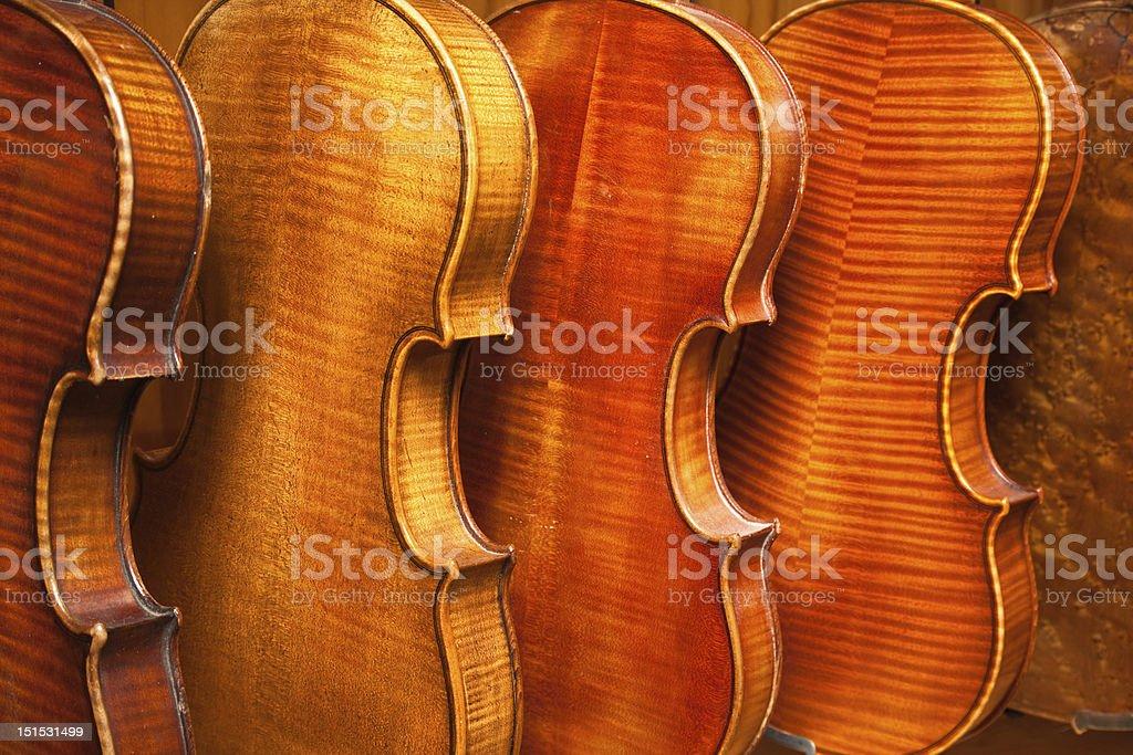 Violins royalty-free stock photo