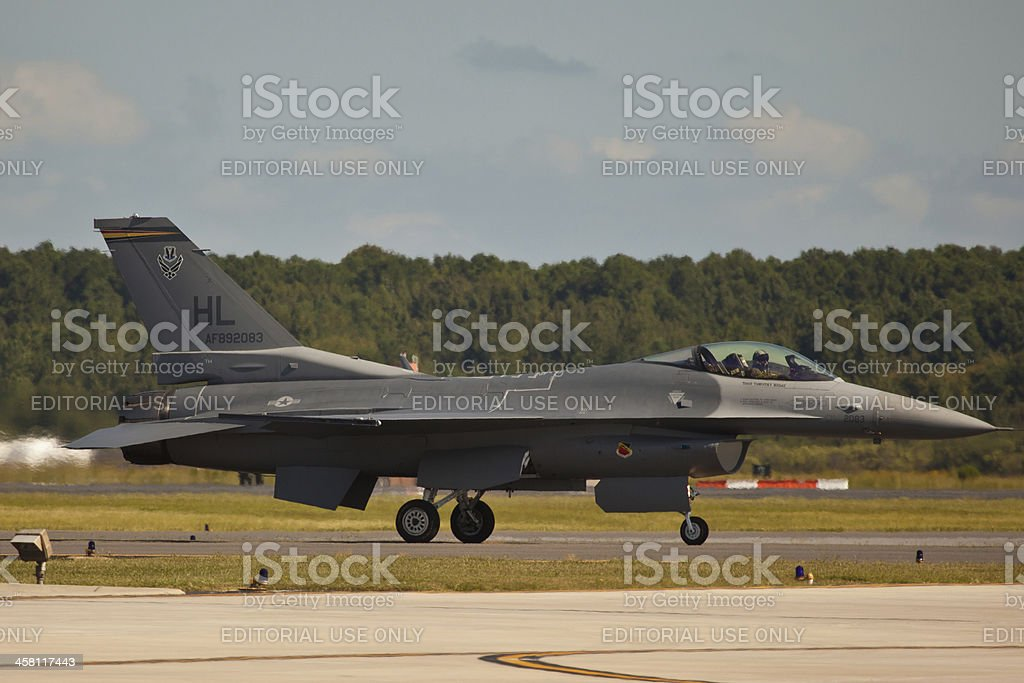 F-16 Viper royalty-free stock photo
