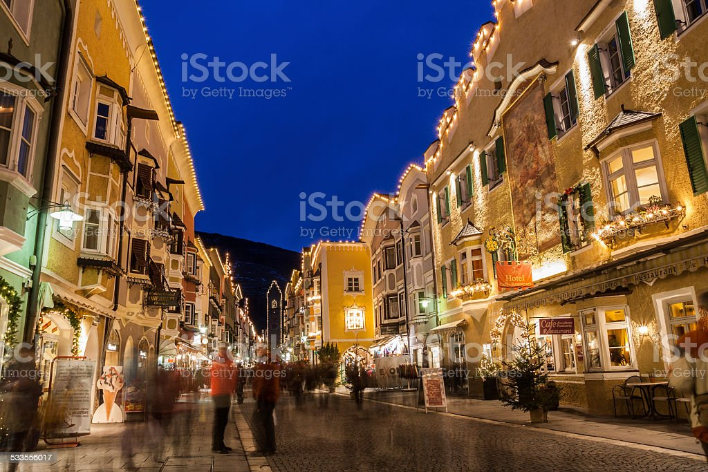 Vipiteno, Sterzing, Bolzano, Trentino Alto Adige, Italy stock photo