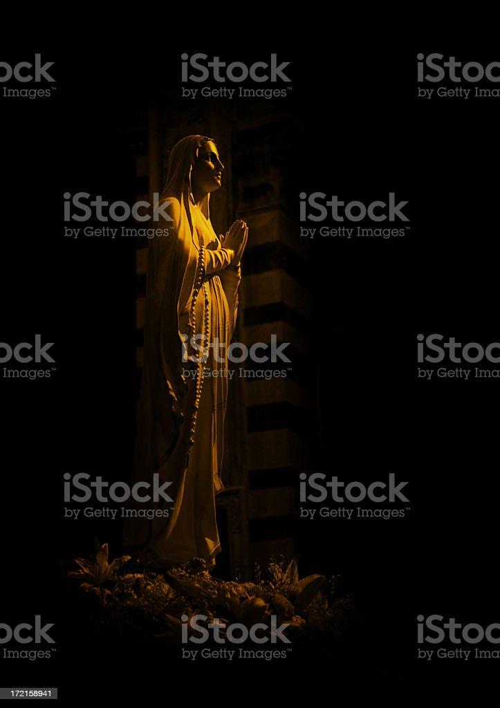 virgen of pisa stock photo