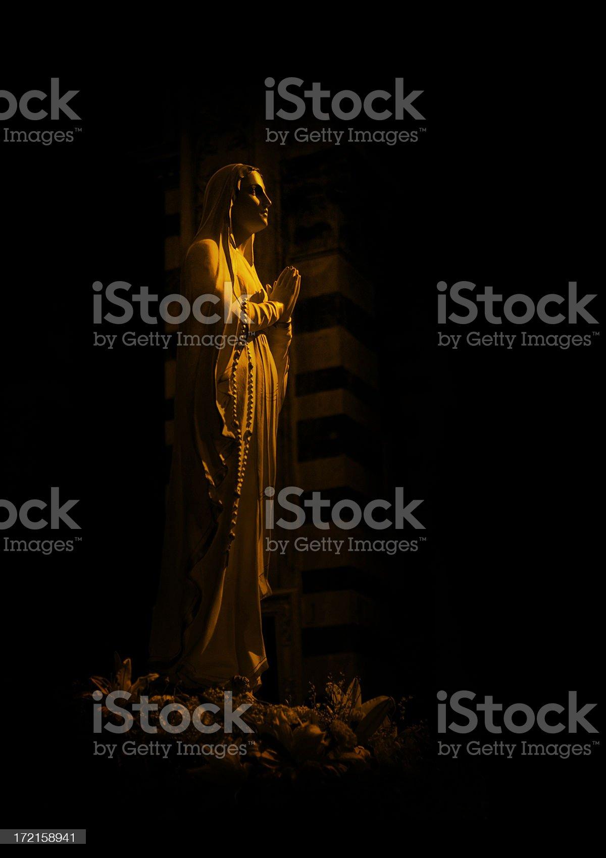 virgen of pisa royalty-free stock photo