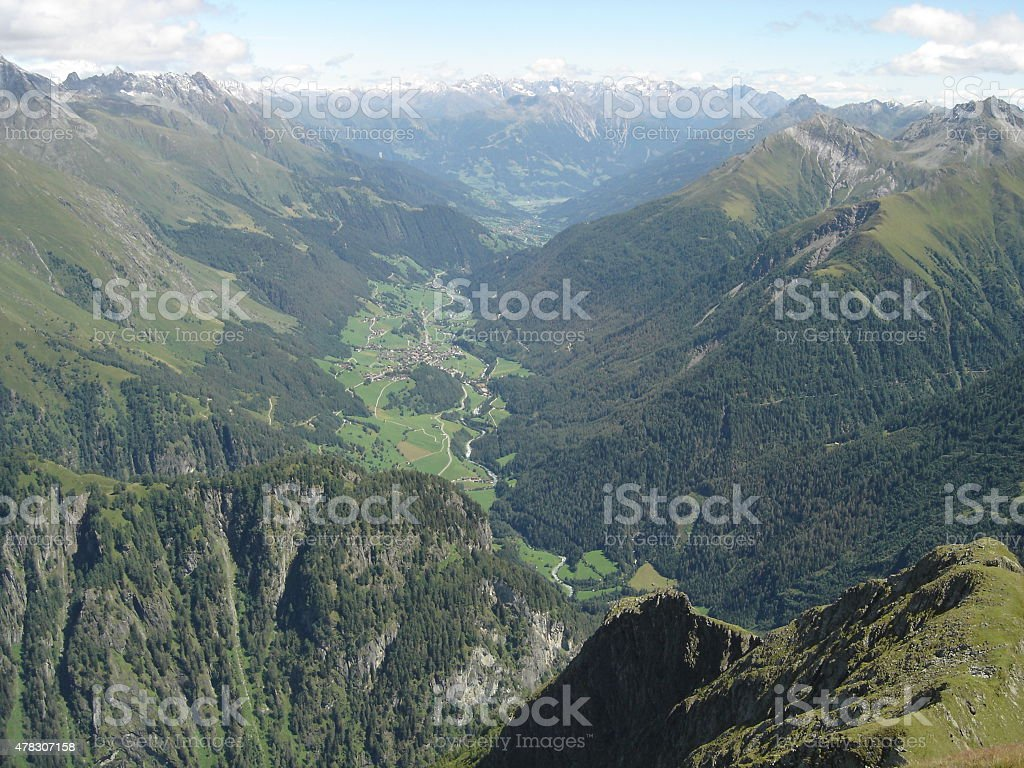 Virgen Valley (Pr?graten, eastern Tirol/Austria) stock photo