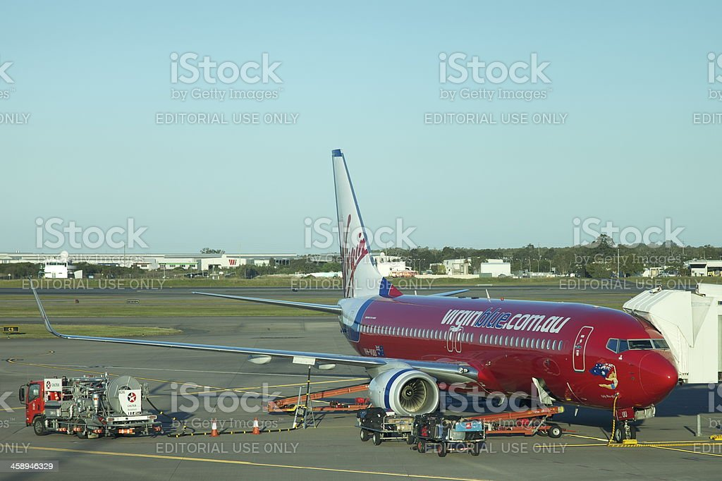 Virgin Airline royalty-free stock photo