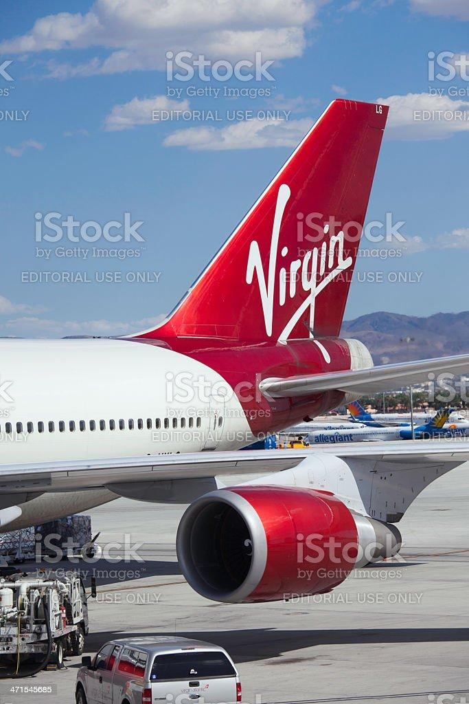 Virgin Atlantic stock photo
