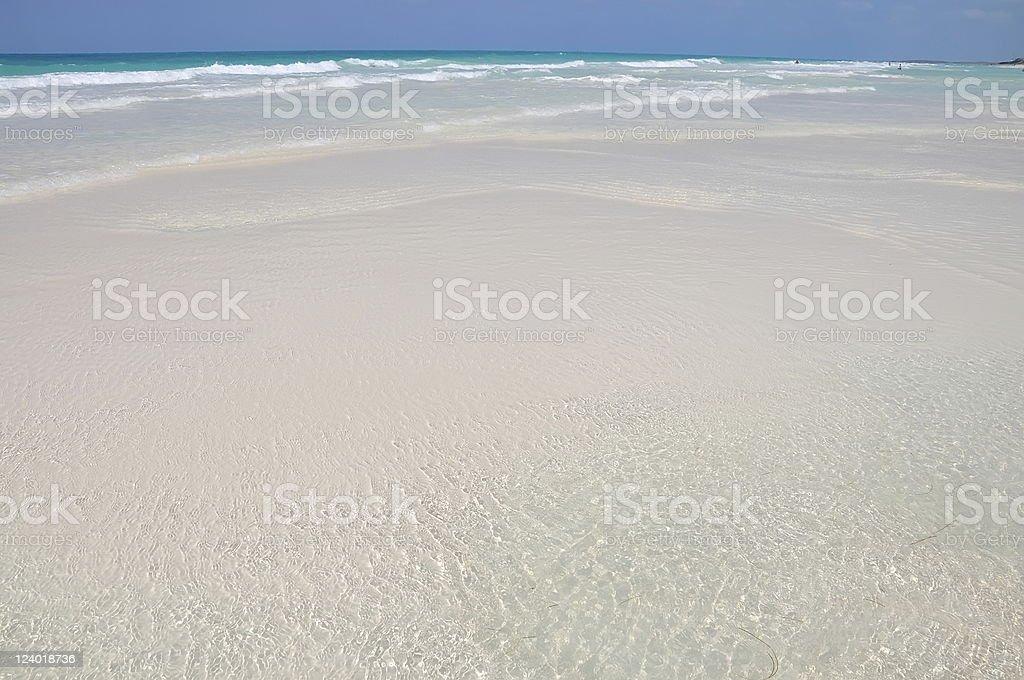 Virgin beach stock photo