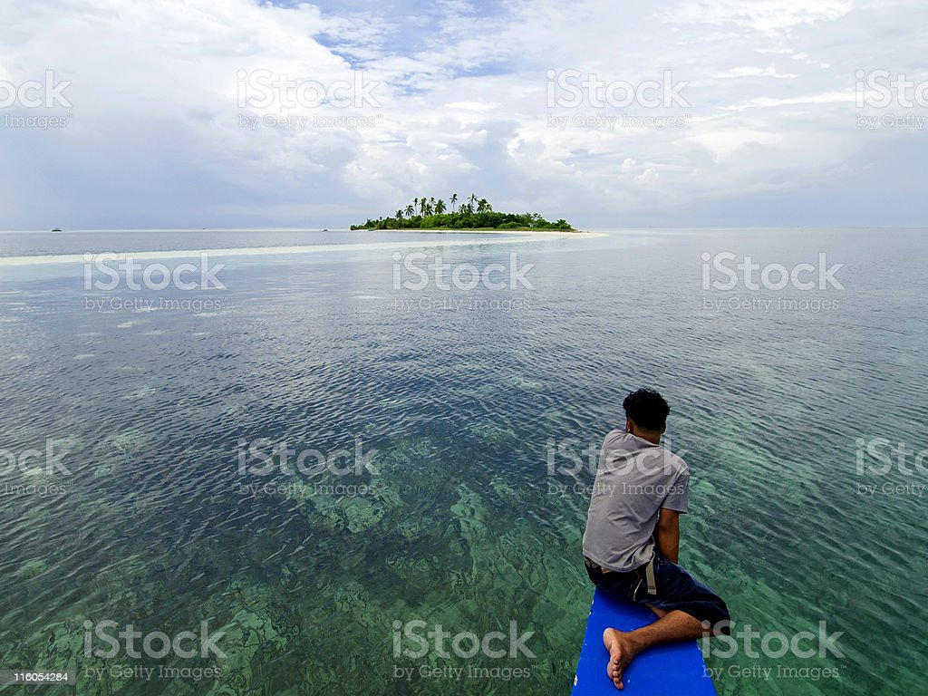 Virgin Island royalty-free stock photo