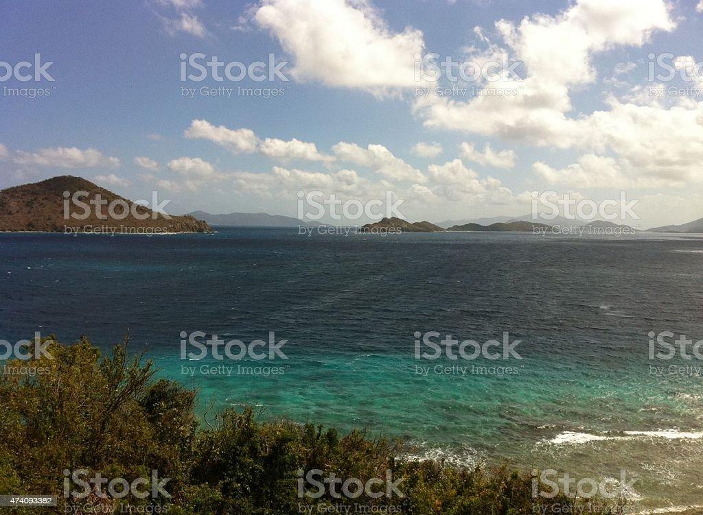 US Virgin Islands stock photo