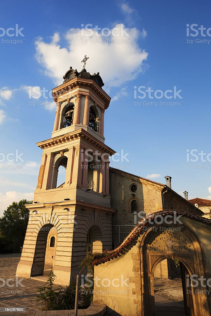 Virgin Mary Cathedral, Plovdiv, Bulgaria stock photo