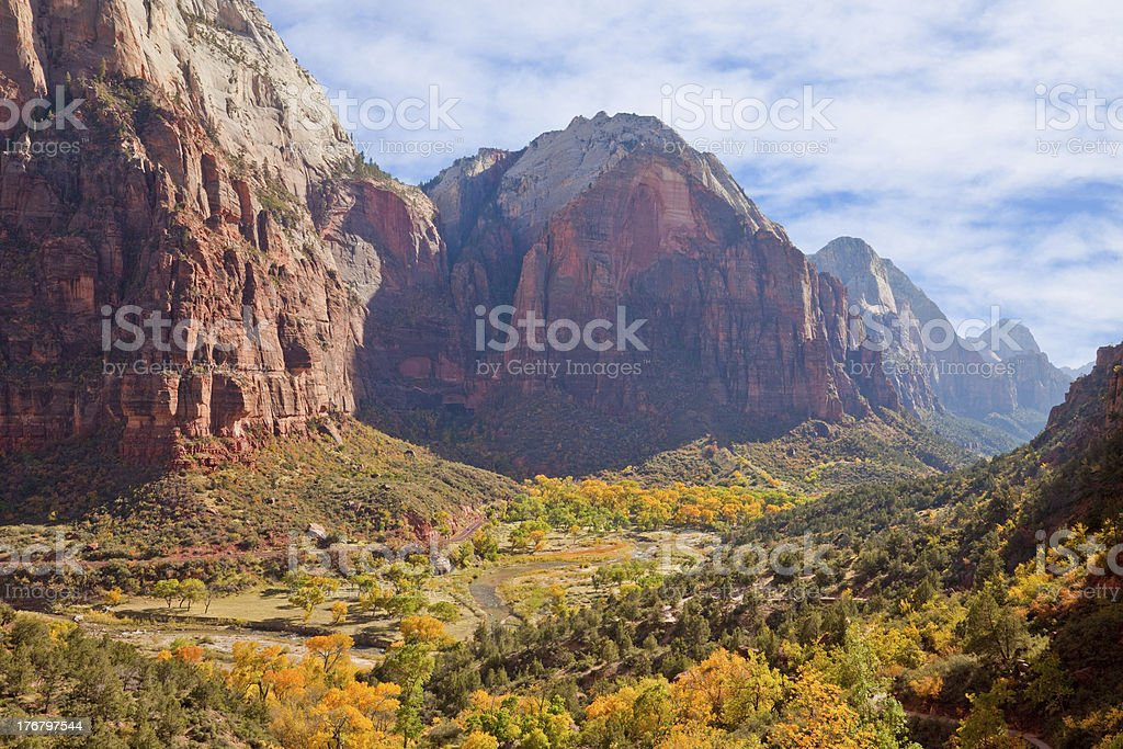 Virgin River Valley royalty-free stock photo