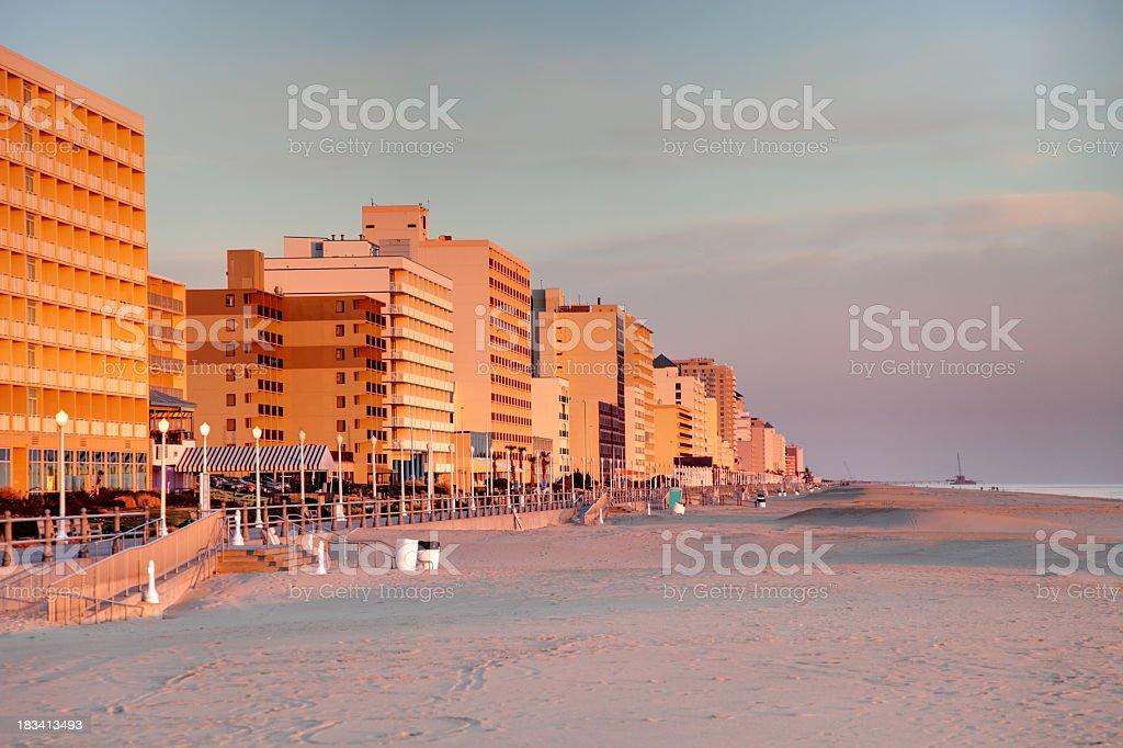 Virginia Beach royalty-free stock photo