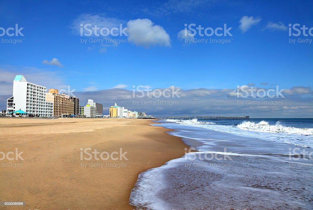 Virginia Beach stock photo