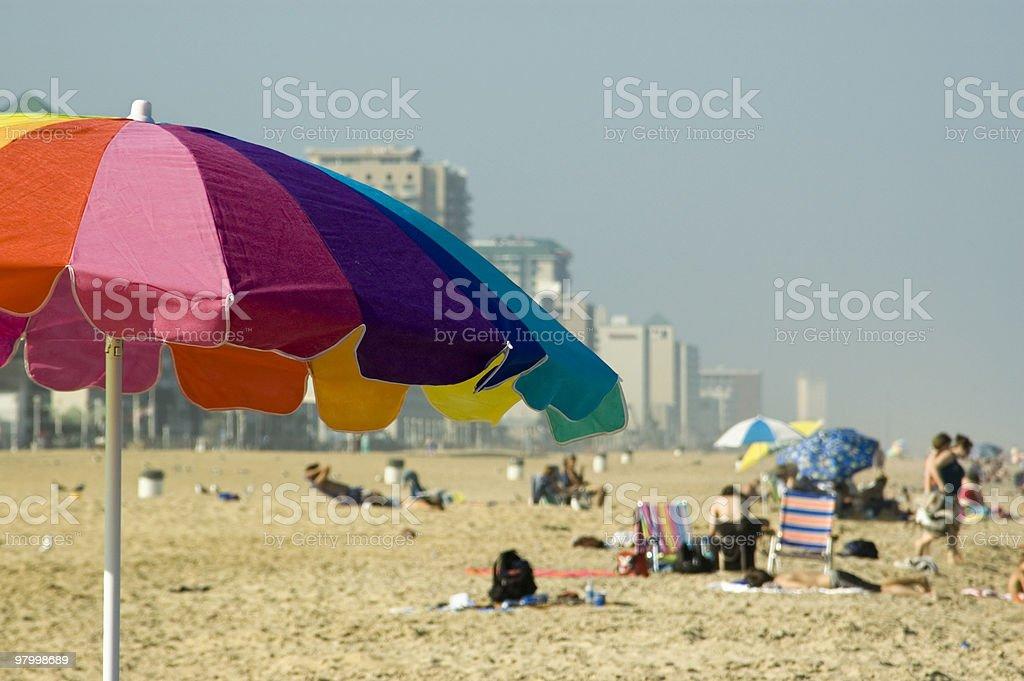 Virginia Beach Scene stock photo