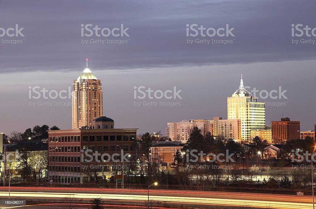 Virginia Beach Town Center stock photo