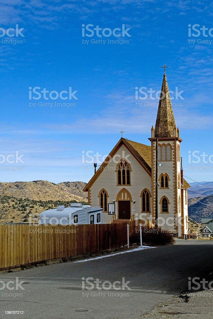 Virginia city, Nevada stock photo