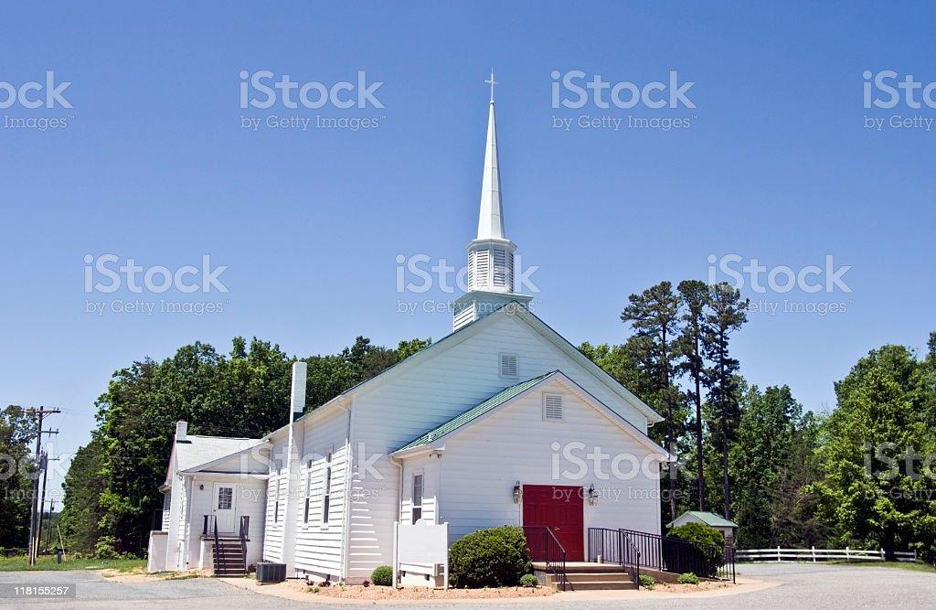 Virginia Country Church stock photo