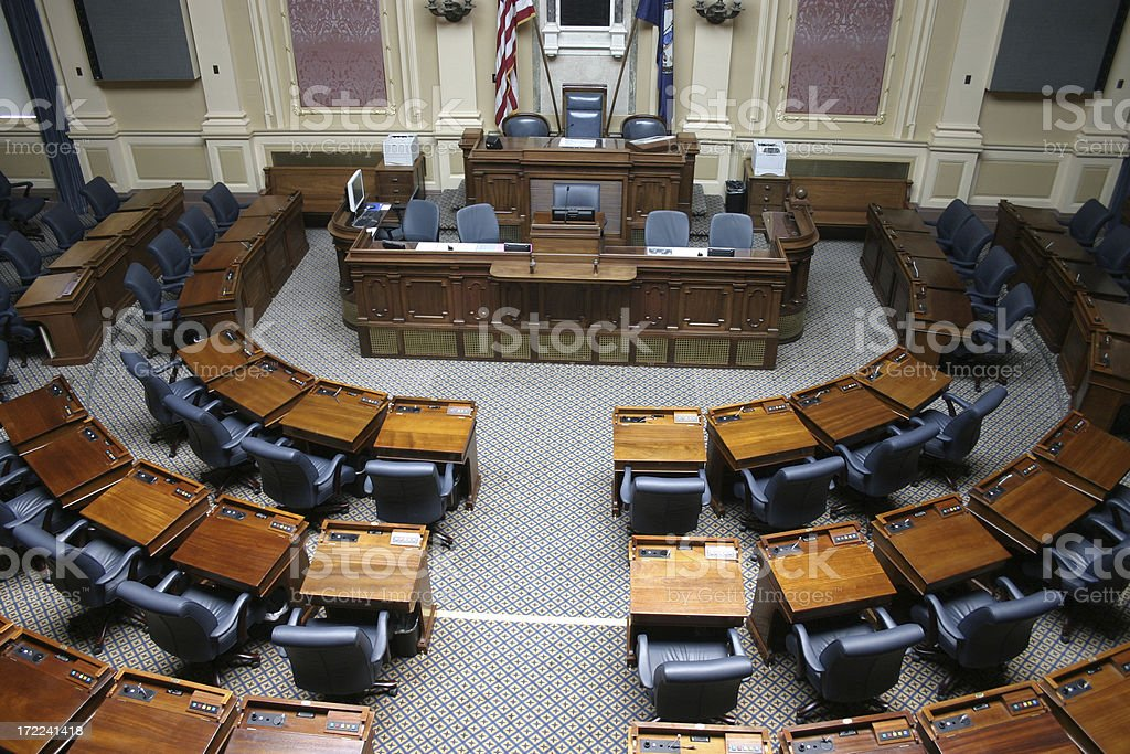 Virginia General Assembly - House of Delegates stock photo