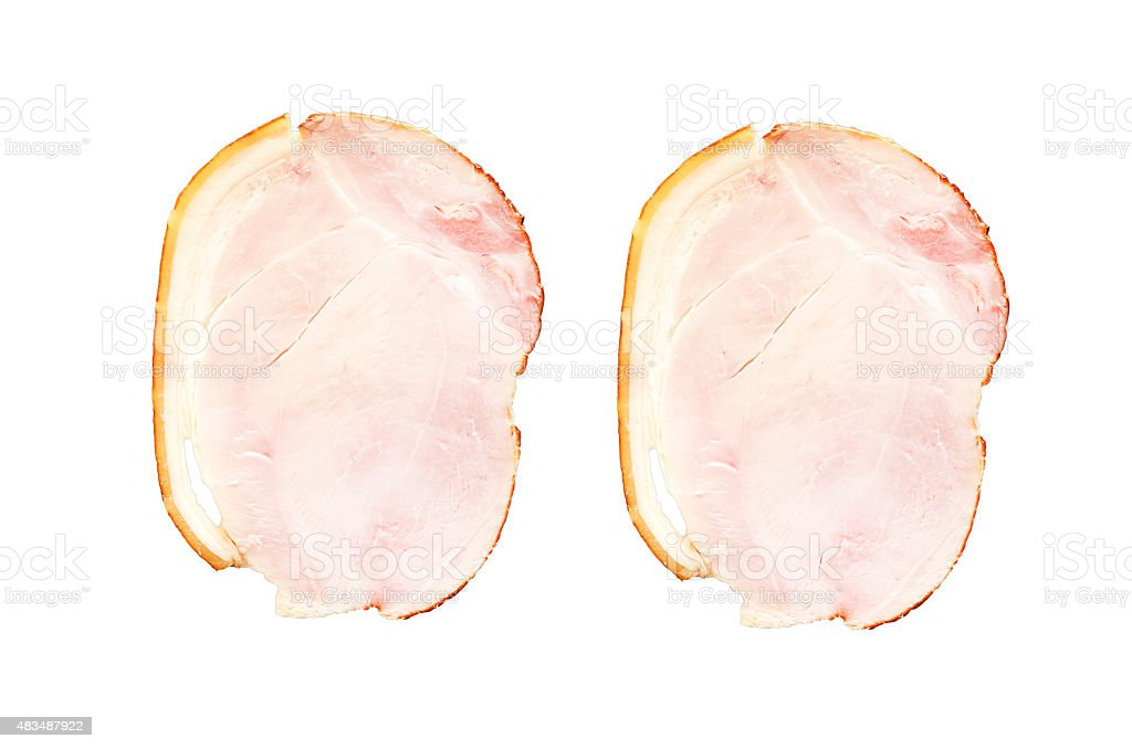 virginia ham stock photo