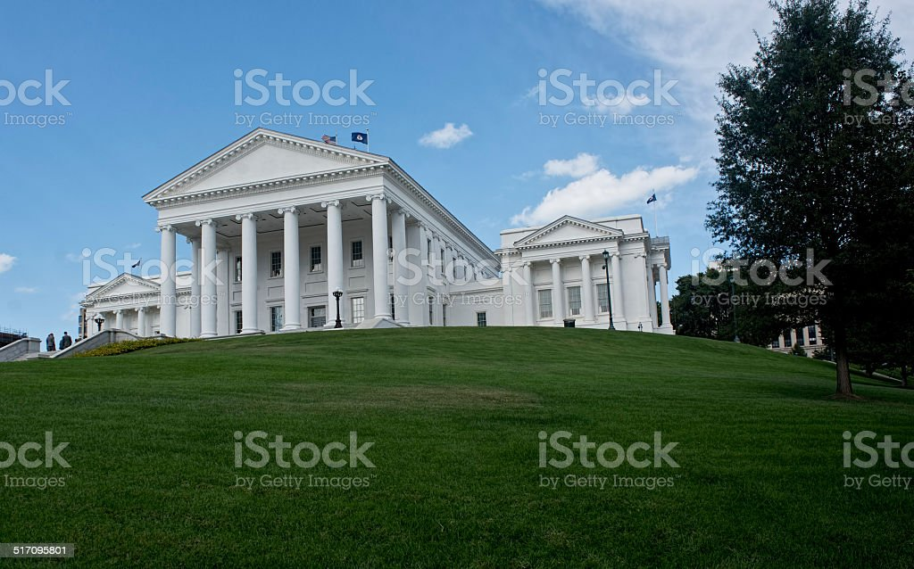 Virginia State Capital Building. stock photo