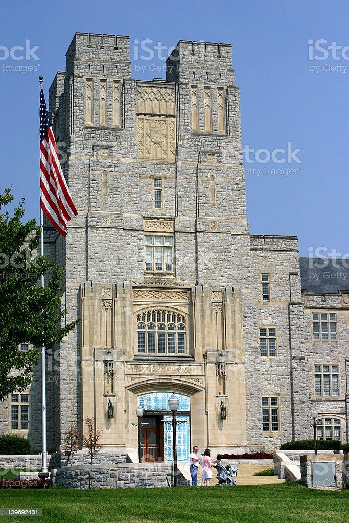 Virginia Tech stock photo