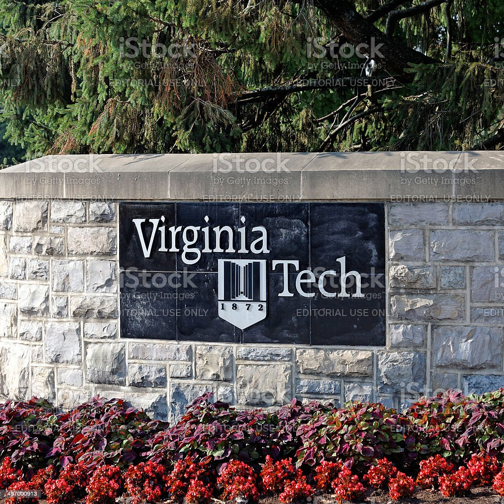 Virginia Tech royalty-free stock photo