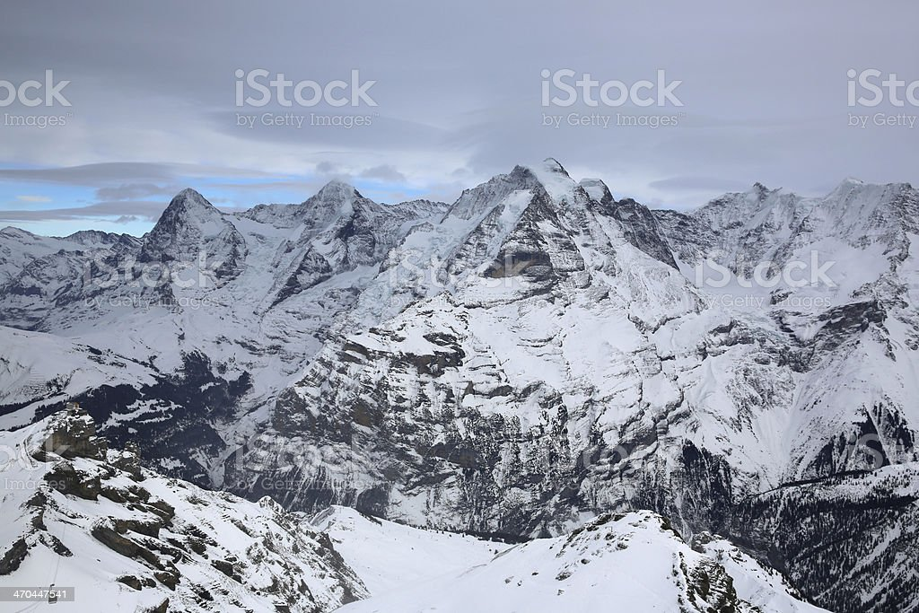 Jungfrau Region royalty-free stock photo