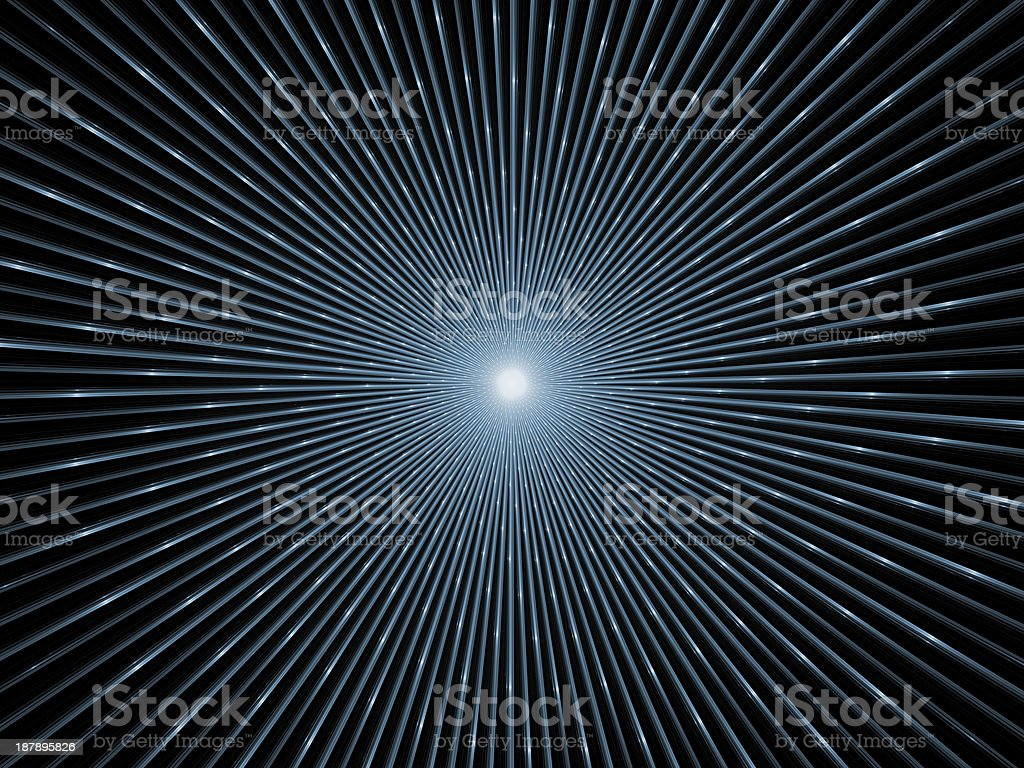 Virtual Fractal Burst royalty-free stock vector art