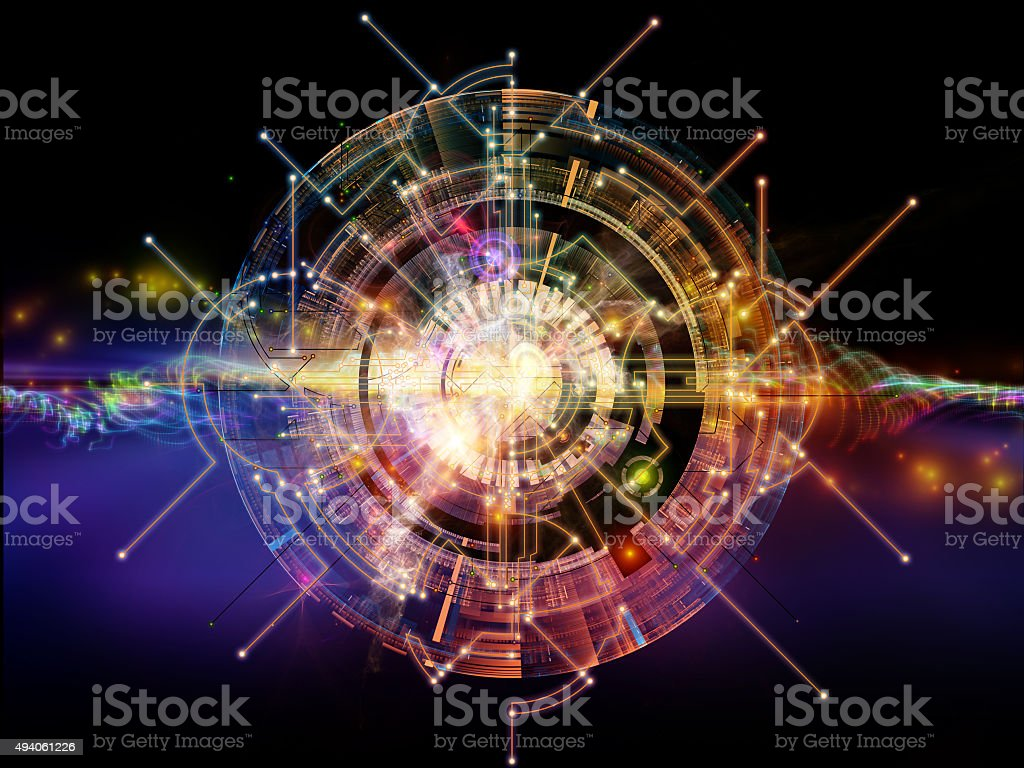 Virtual Network stock photo
