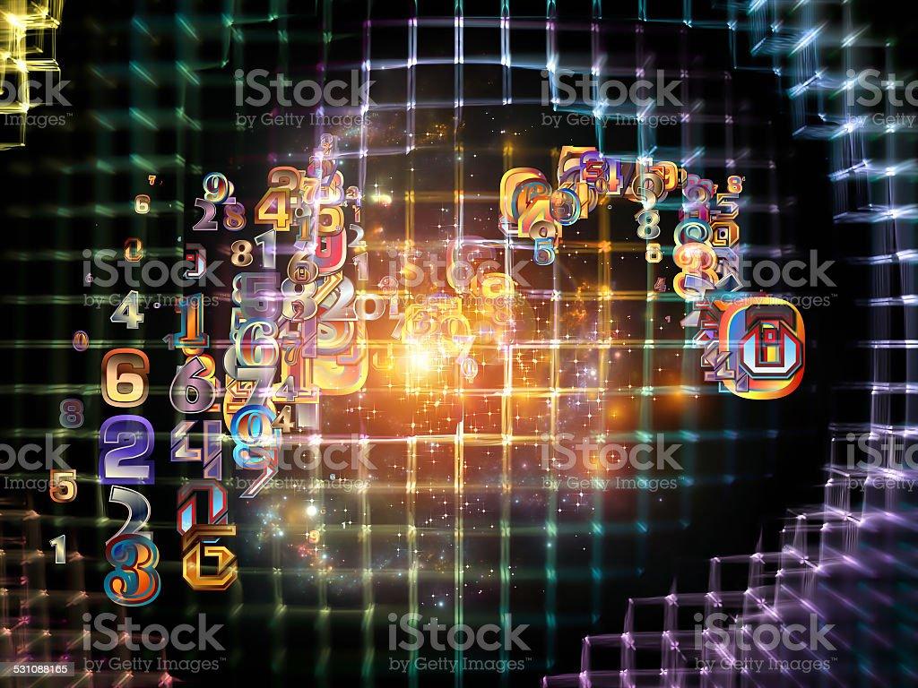 Virtual Network stock photo