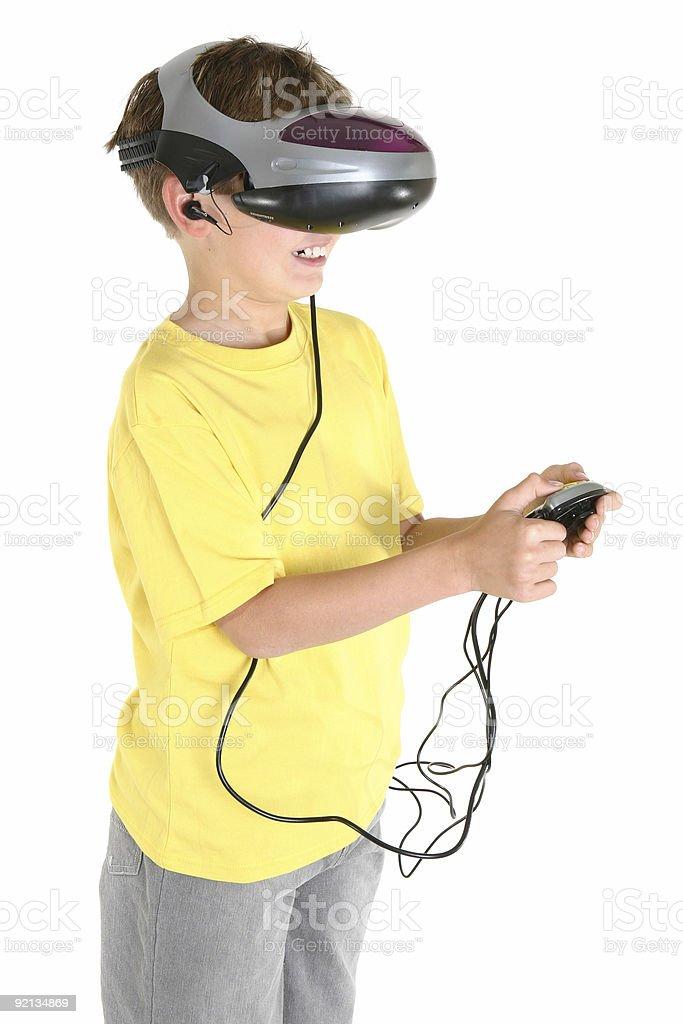 Virtual reality games royalty-free stock photo