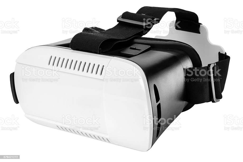 Virtual reality glasses stock photo