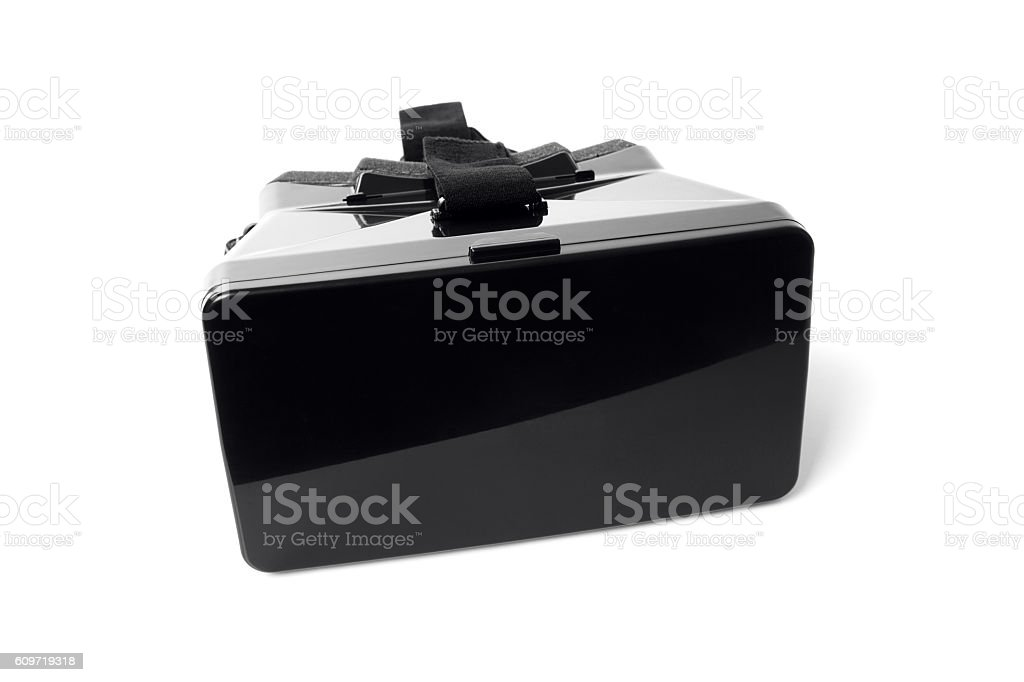 VR virtual reality headset stock photo