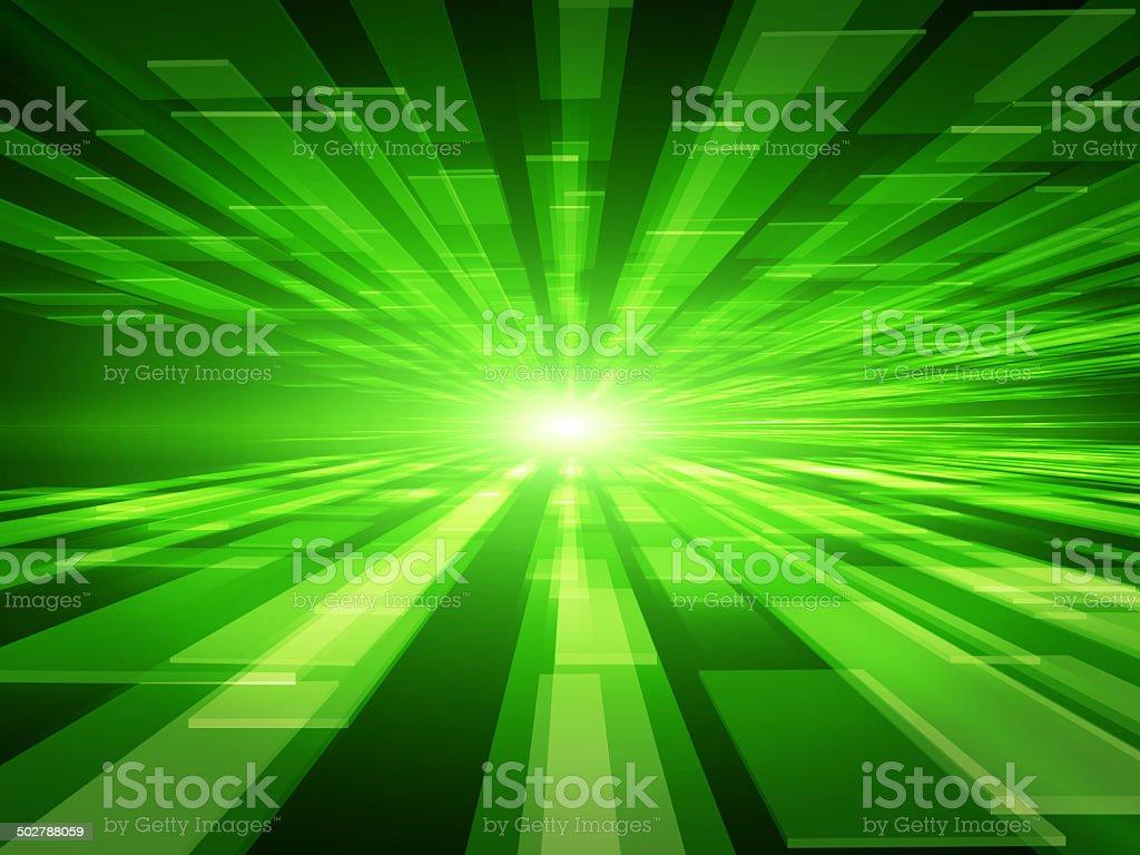 Virtual tecnology background stock photo