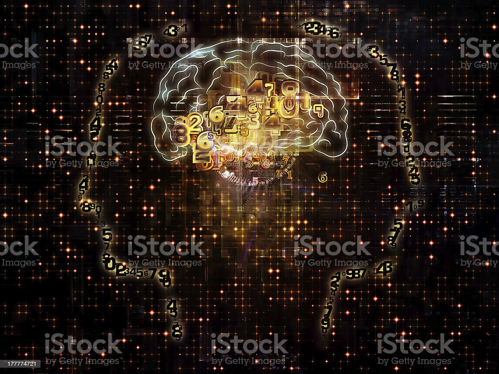 Virtualization of Consciousness royalty-free stock photo