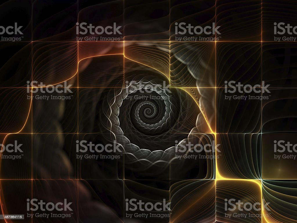 Virtualization of Space royalty-free stock photo