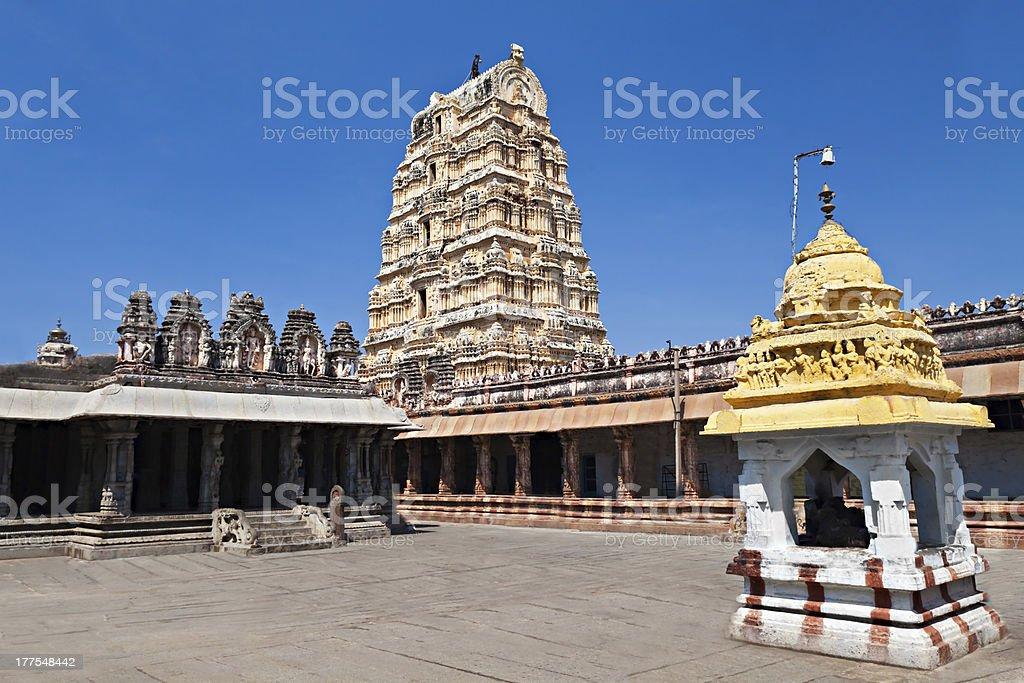 Virupaksha Temple, Hampi royalty-free stock photo