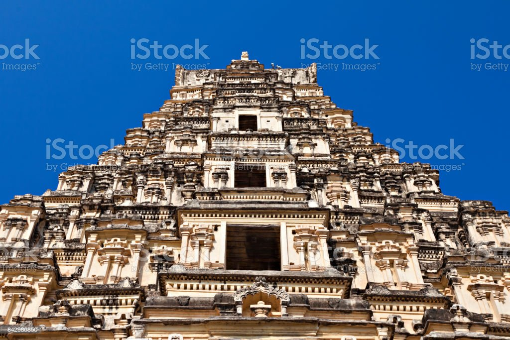 Virupaksha Temple, Hampi stock photo