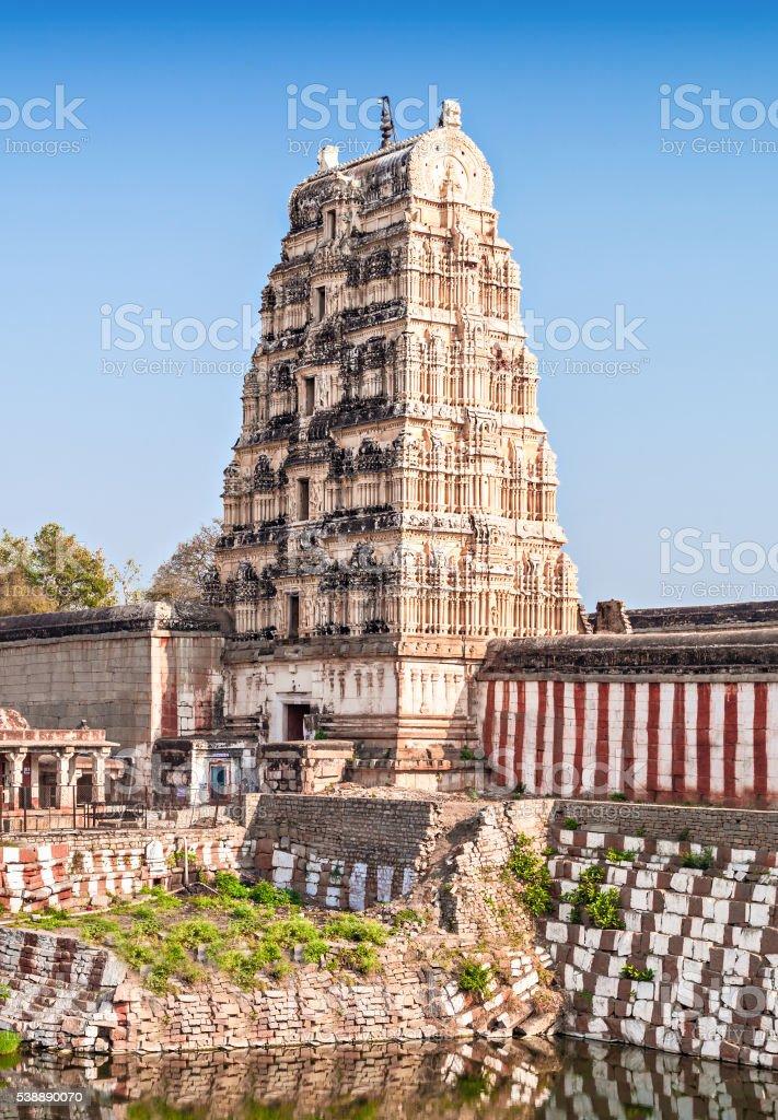 Virupaksha temple stock photo