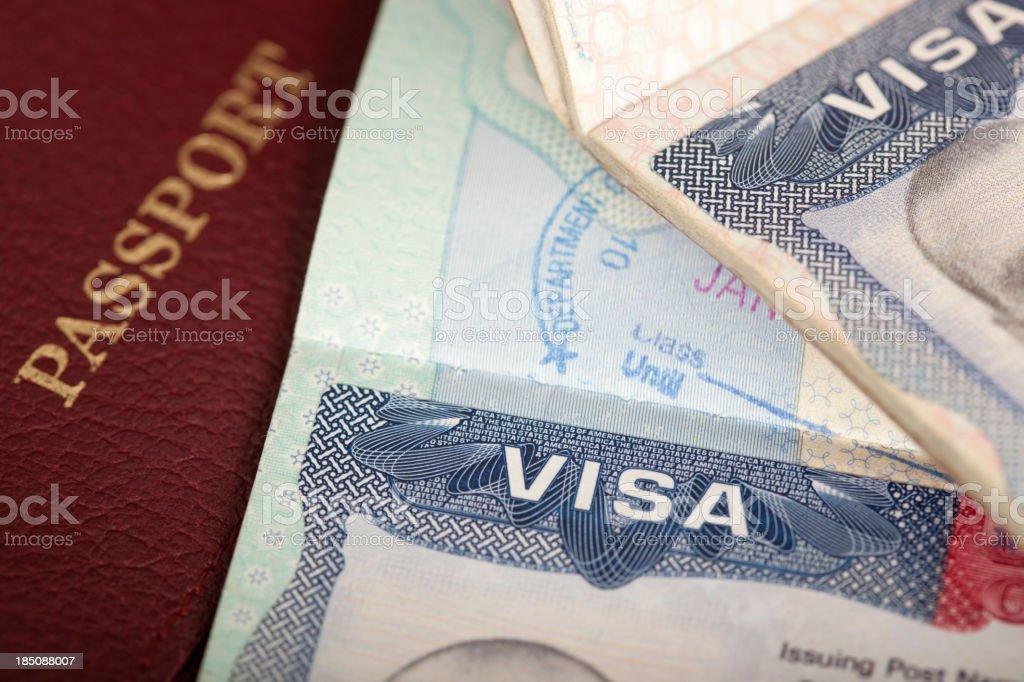 visa background stock photo