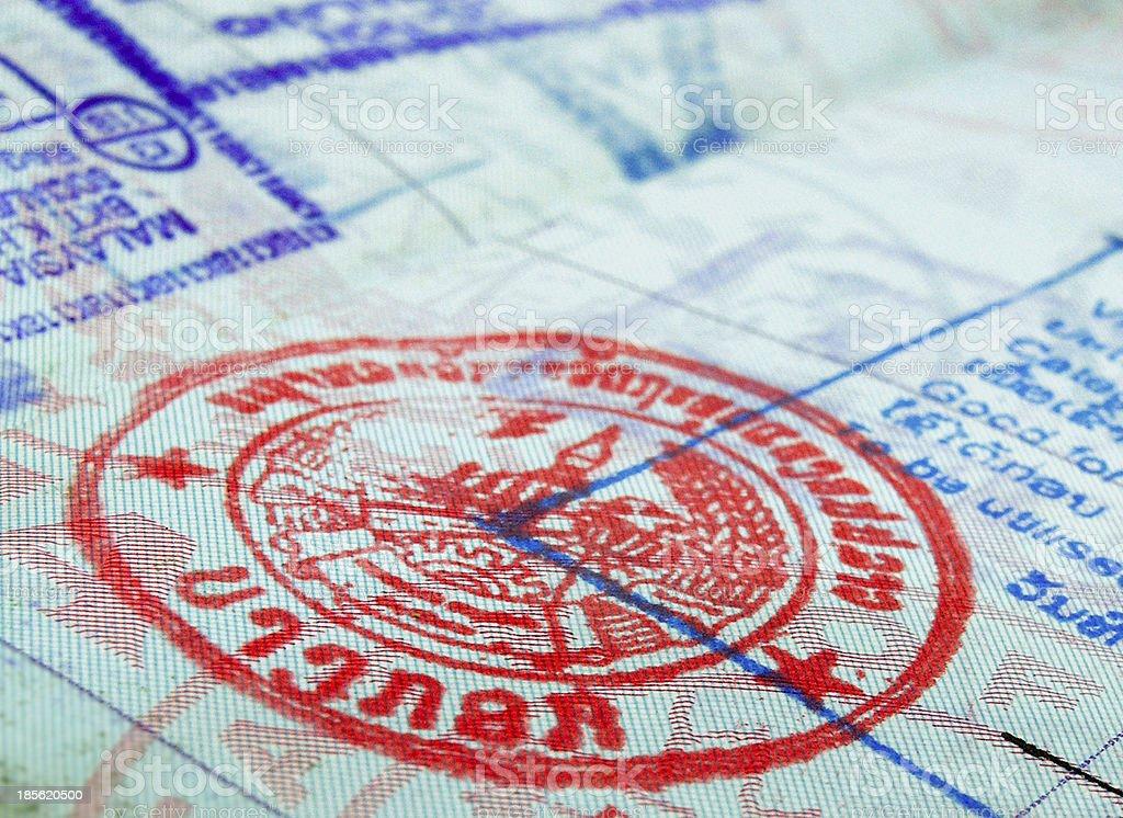 visa royalty-free stock photo