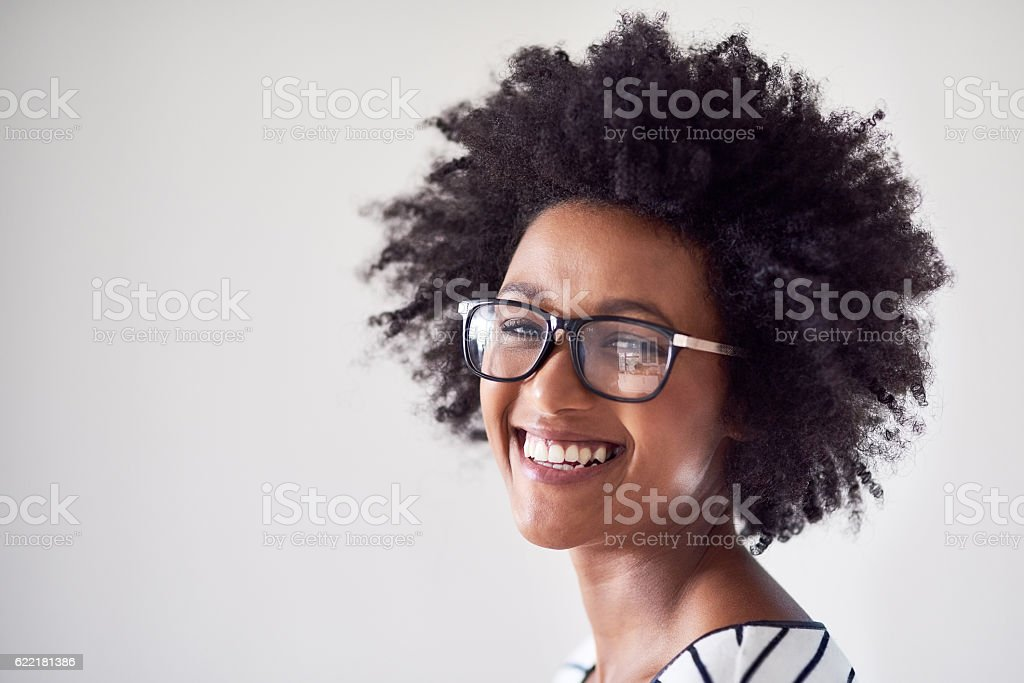 Vision is everything stock photo
