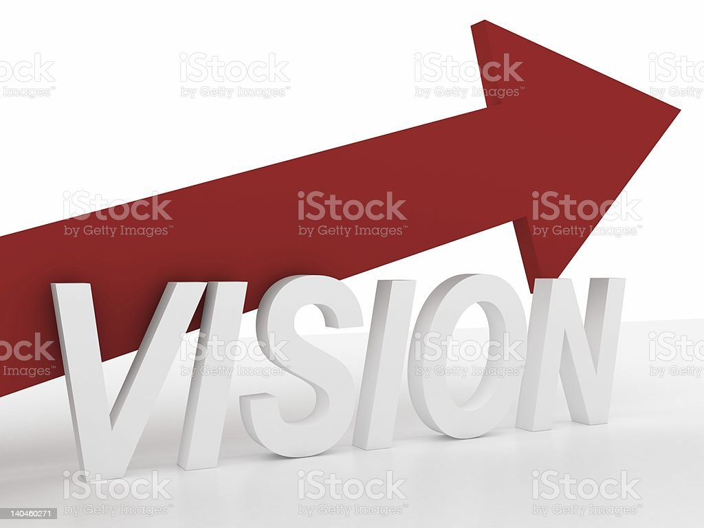 Vision is that way royalty-free stock photo